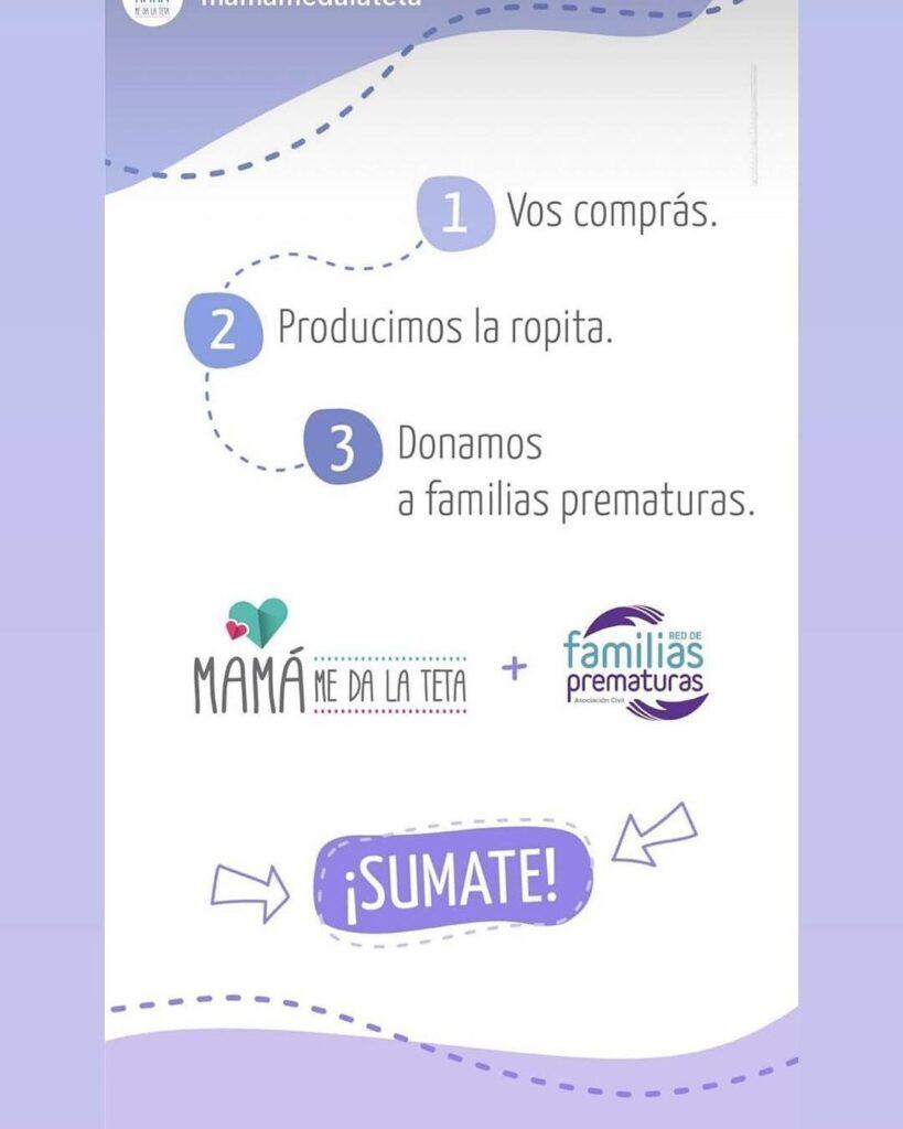 ¡Acompáñanos en la Campaña Caricia Prematura! Con tu ayuda podemos hacer más! 💜💙🧡💚 Visita la web www.mamamedalateta.com.ar para más información